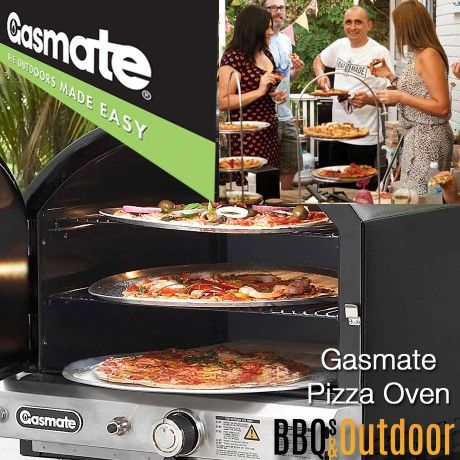 Gasmate Pizza Oven- Vitreous Enamel   BBQ's & Outdoor