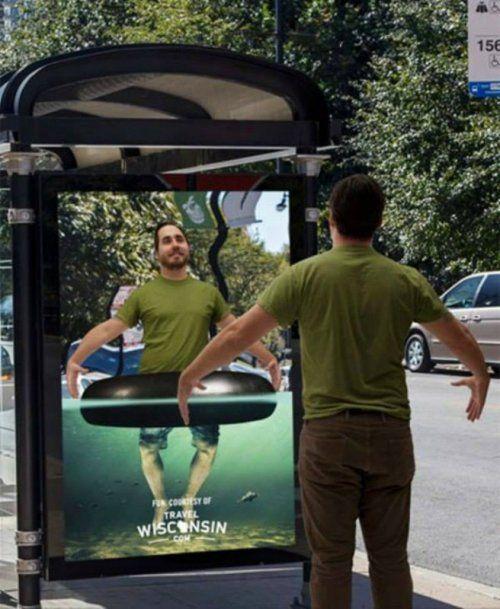 Креативная наружная реклама со всего света (19 фото)