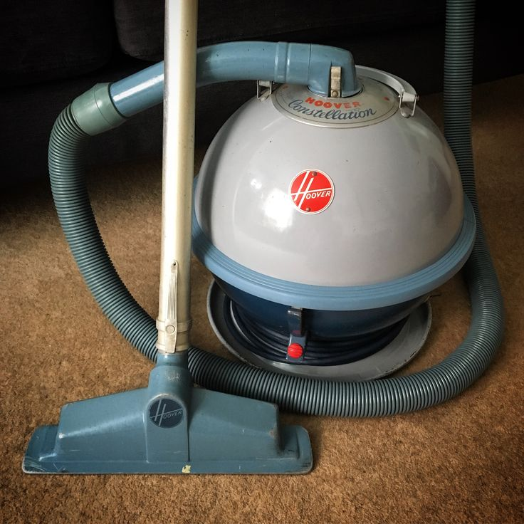 Hoover Constellation Model 822a Canister Vacuum Cleaner C 1958 Styled By Henry Dreyfuss Vintage Vacuum Cleaner Canister Vacuum Cleaner Vacuum Cleaner