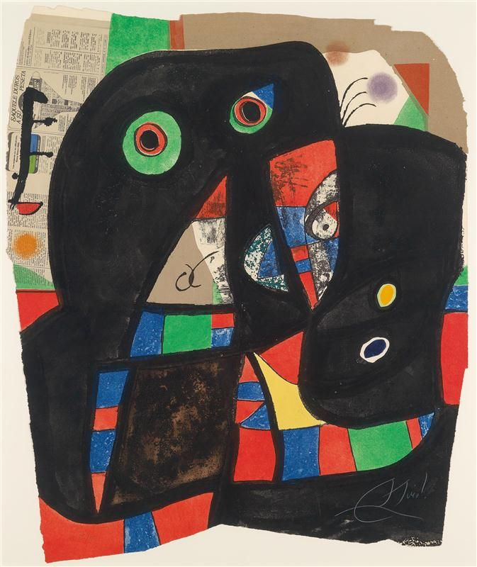 Joan Miro. Auction by Dorotheum