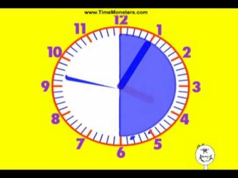 telling time  ...   helped solidify what Sophie already  knew.  Amateur video but it did help.  nlb