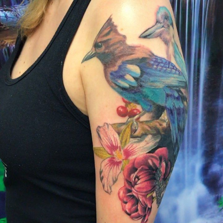 Progresspic Of This Coveruptattoo For Kasey Thanks So Much For
