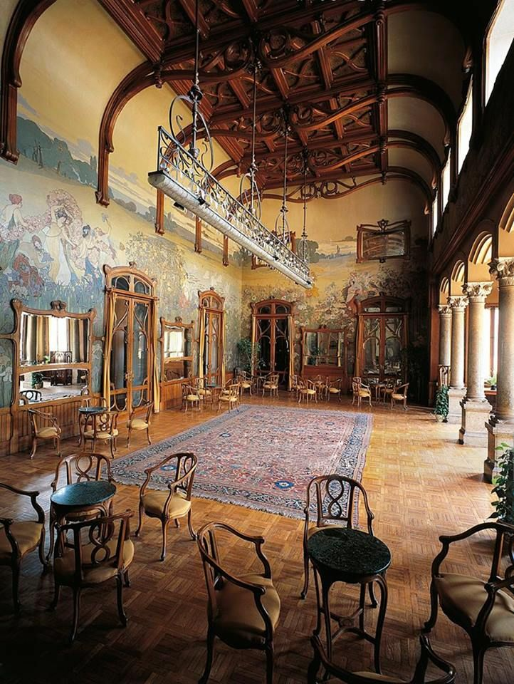 957 best art nouveau images on pinterest art nouveau for Design hotel palermo