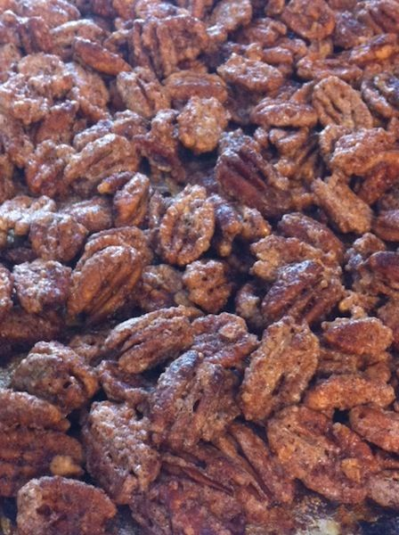 This 5 Ingredient Sugared Pecans recipe is super simple to make. These pecans are so yummy that you won't be able to eat just one!