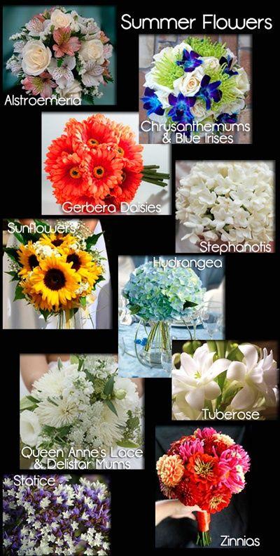 Summer Wedding Flowers - wish-upon-a-wedding