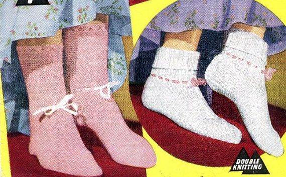 Knitting Pattern For Ladies Bed Socks : 71 best images about knit socks on Pinterest Free pattern, Yarns and Bed socks