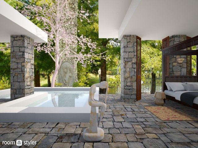 Roomstyler.com - boudoir pool