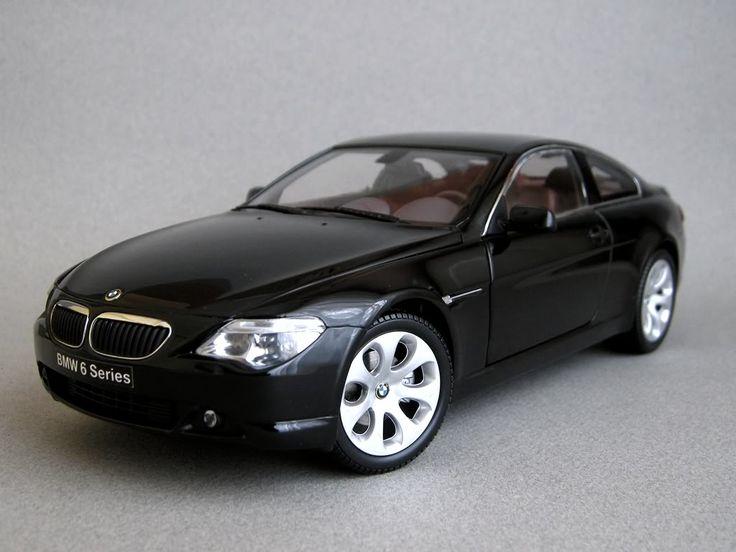 Kyosho E63 BMW 645Ci - Black Sapphire Metallic