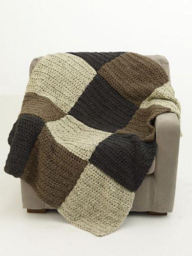 Ravelry: Earth Block Afghan pattern by Lion Brand Yarn