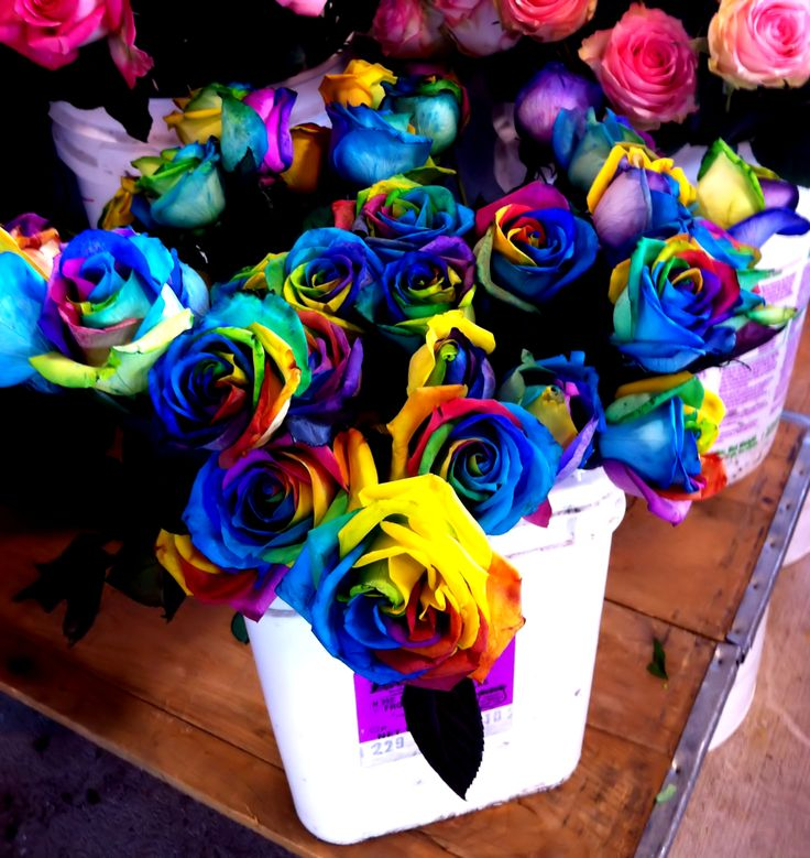 17 best images about decorative tie dye flowers on for How to make tie dye roses