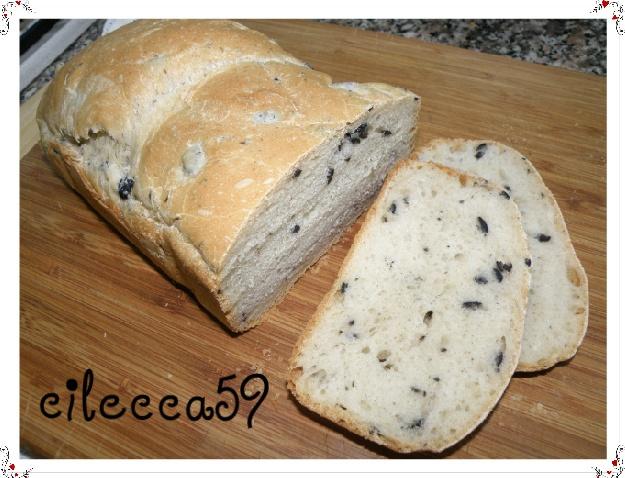 Pane con le olive MDP
