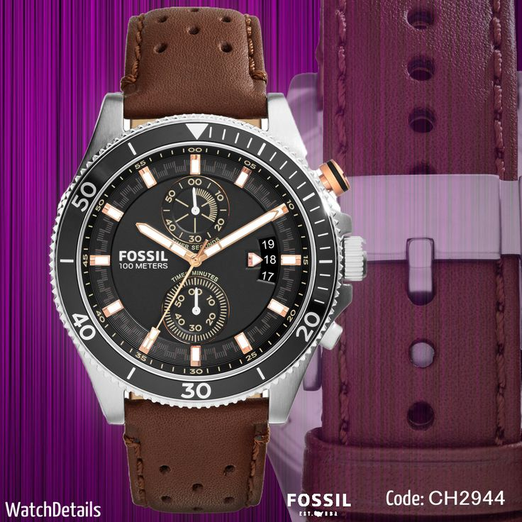 Read More Men's Watch Sports Wakefield Chronograph CH2944 http://goo.gl/ty4VaA #watches #watch #watchformens #mens #fashion #style #brown #fossiol #sports