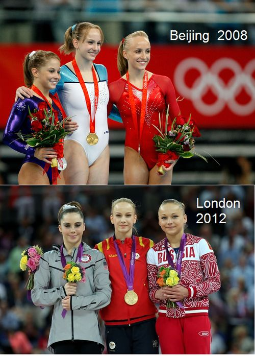 Sandra Izbasa: The Americans come and go but the Romanians stay - medalling in GOLD, btw.