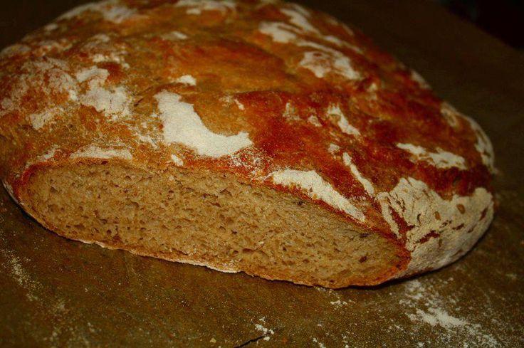 Konzumní chléb podle receptu Romana Vaňka