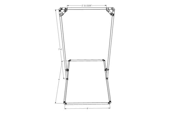 Diy Free Standing Pull Up Bar Dimensions Sports