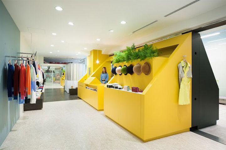 my panda store by Torafu Architects, Tokyo store design