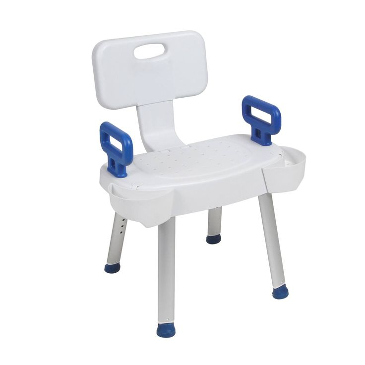 Soap Trays for Shower Chair with Folding Back