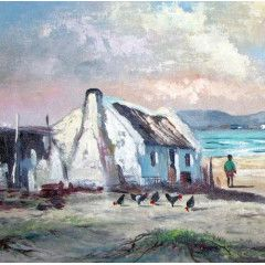 Arniston 2 - Another fine oil painting by Vincent Olivier