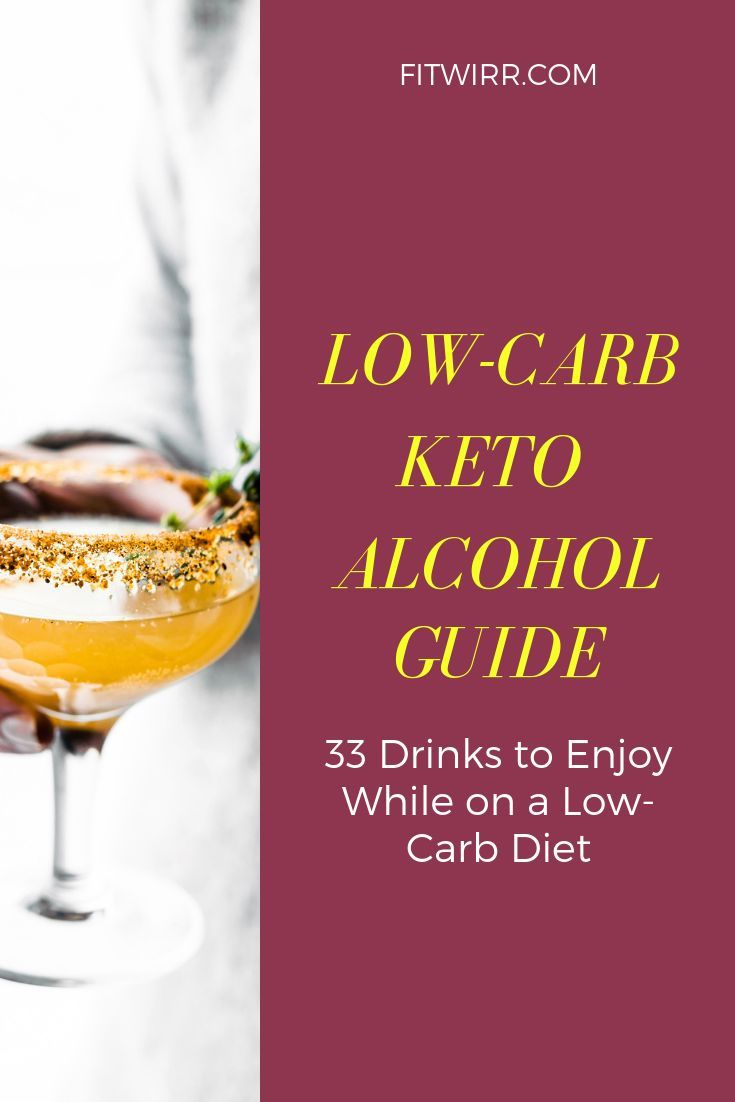 Low Carb Keto Alcohol Guide 33 Drinks To Enjoy While On A Low Carb Ketogenic Diet Ketoalcohol Ketoalcoholguide Ketodrinks Keto Drink Keto Cocktails Carbs