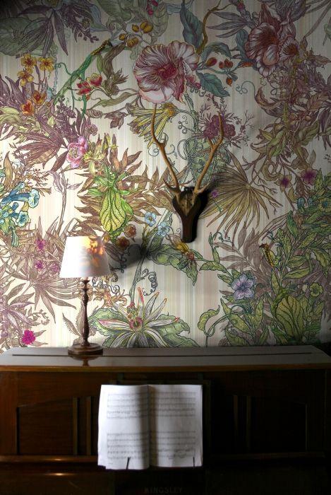Timorous Beasties Wallcoverings - Opera Botanica