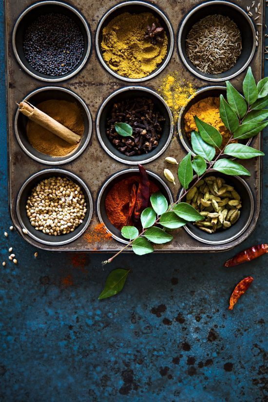 Organizer for spices