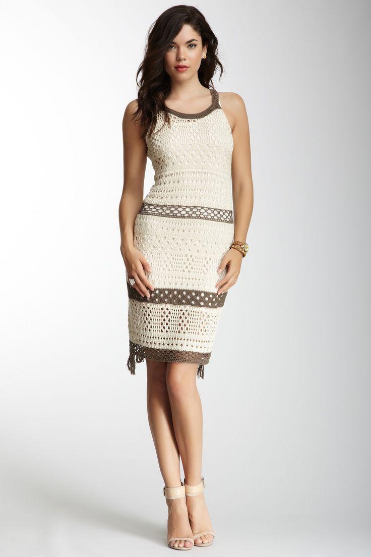 Dress вязание крючком платье