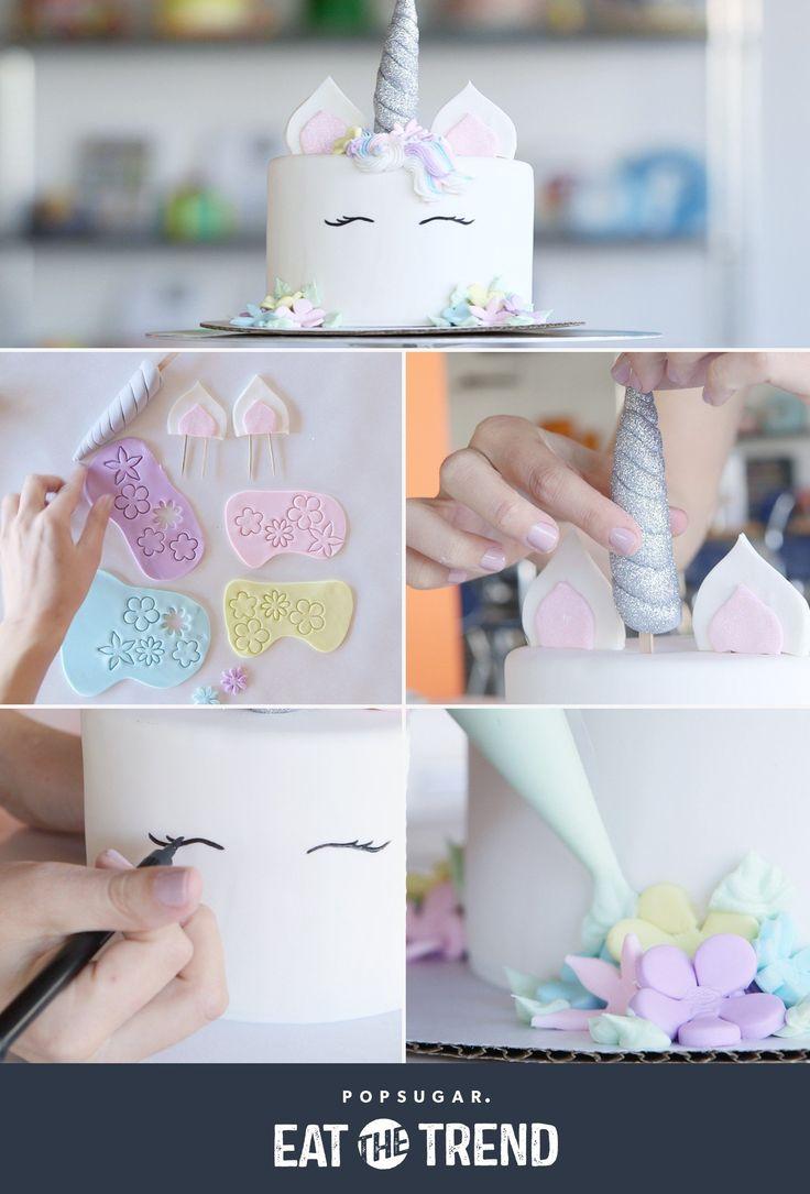 Love this Duff Goldman DIY unicorn cake!!