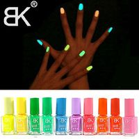 10pcs 2014 New Hot Sale Colors Fluorescent Luminous Neon Glow In the Dark Varnish  Paint Nail Art Polish