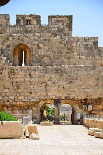The architecture of the Holy Land, Jerusalem, Israel.