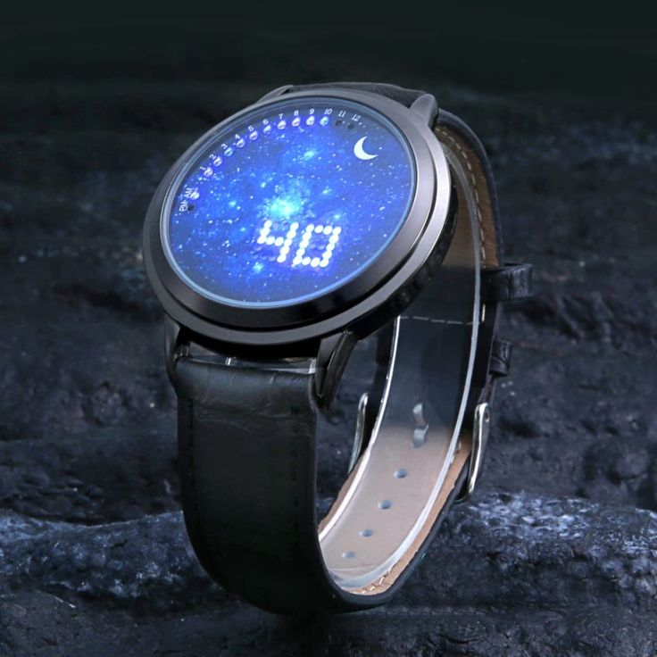 2016 New Fashion Starry Sky Touch Screen Watch Men Women LED Watches Casual Leather man Sports Wristwatches Relogio Masculino-in Lover's Watches from Watches on Aliexpress.com | Alibaba Group