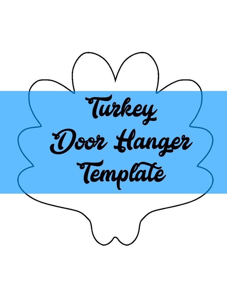 Более 25 лучших идей на тему «Door hanger template» на Pinterest - door hanger design template