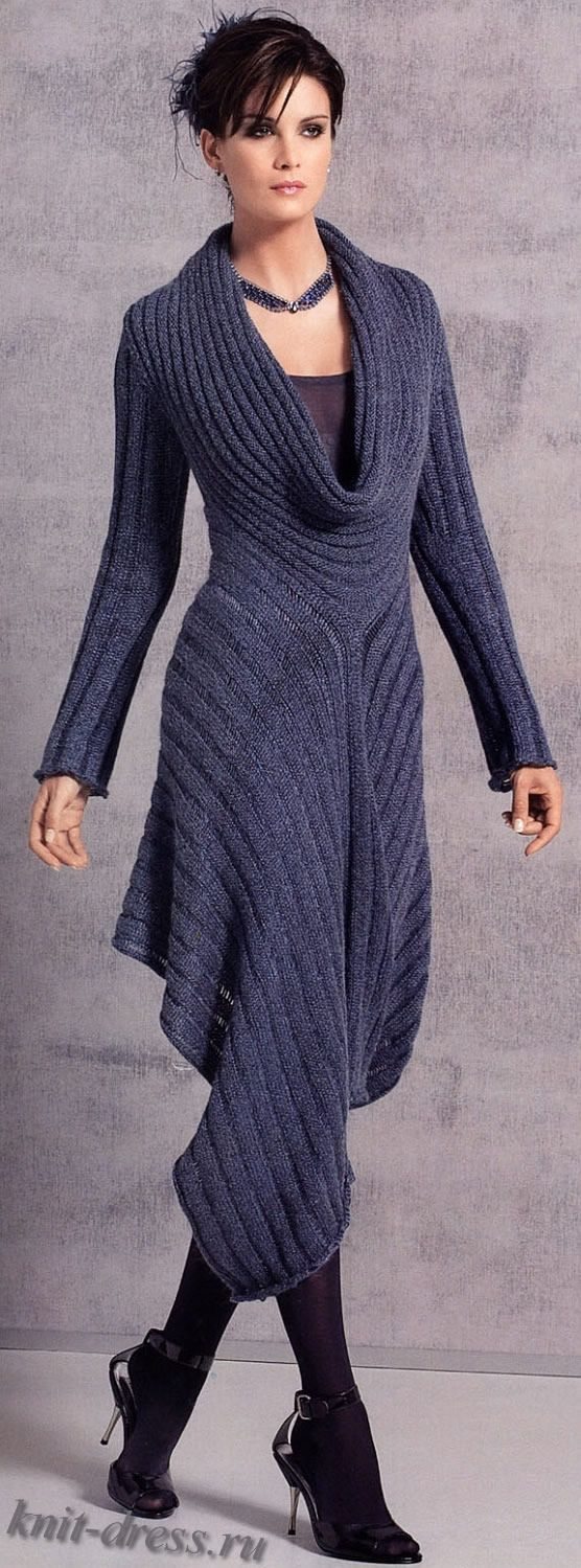 elegant dress photo- its knit, but mostly for inspiration anyways