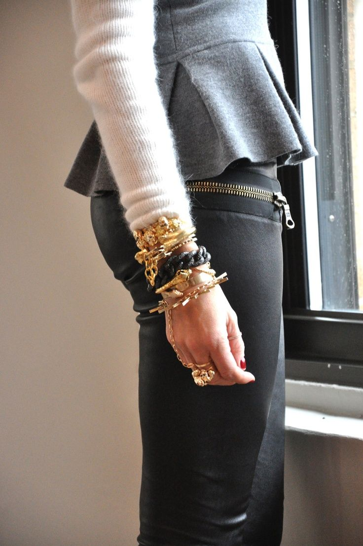Olivia Palermo with Jennifer Fisher Jewelry