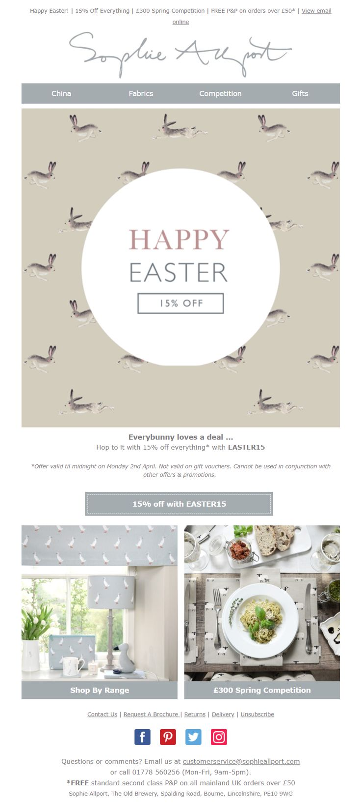 123 best easter emails images on pinterest easter email from sophie allport emailmarketing email marketing easter gifts negle Gallery