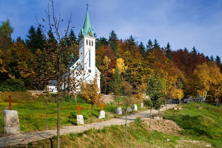 Calvary and Public Space at a village Church