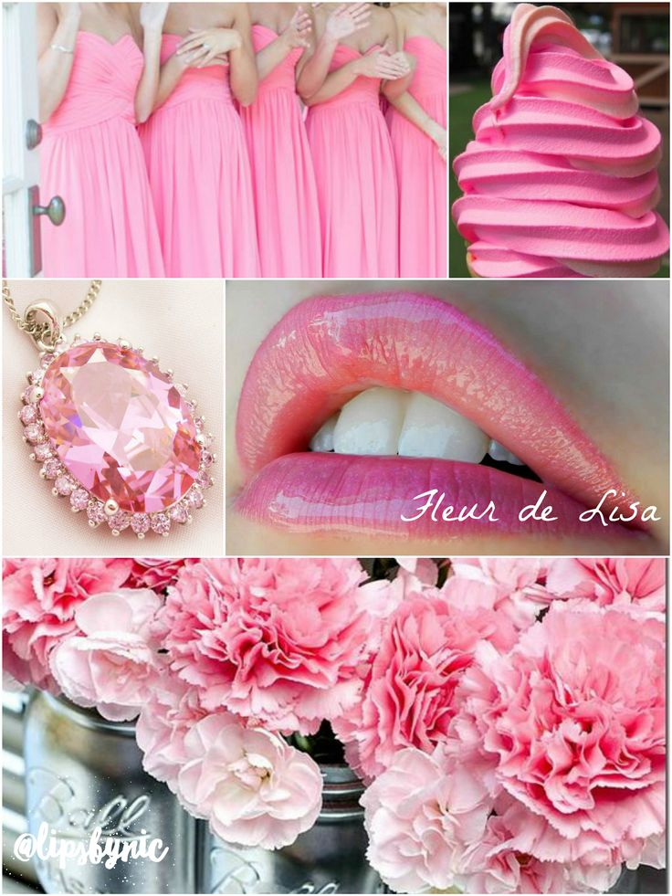 Pink Inspiration! This lip color lasts up to 18 hours! Waterproof, kiss-proof…