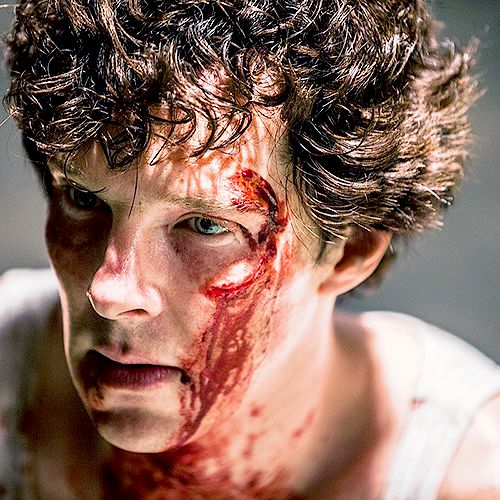 How can he look better than dean Winchester covered in blood? It's a miracle.