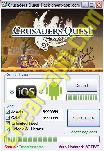 Crusaders Quest Hack Cheats Tool Telecharger Gratuit Unlimited Jewels, Gold, Food  Download: http://cheat-app.com/crusaders-quest-hack-unlimited-gold/  Download: http://cheat-app.com/crusaders-quest-hack-unlimited-gold/  Download: http://cheat-app.com/crusaders-quest-hack-unlimited-gold/