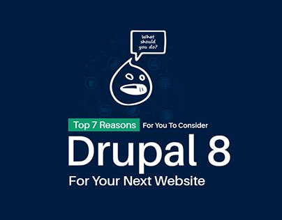 """Check out new work on my @Behance portfolio: """"Drupal 8 For Your Next Website"""" http://be.net/gallery/53830149/Drupal-8-For-Your-Next-Website"""