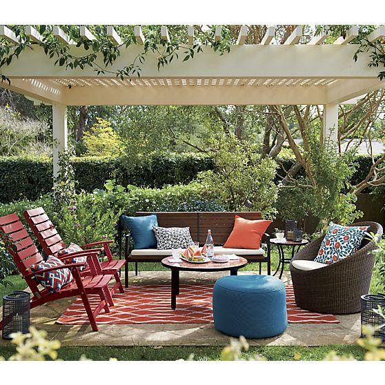 Calypso Mocha Swivel Lounge Chair With Sunbrella 174 White
