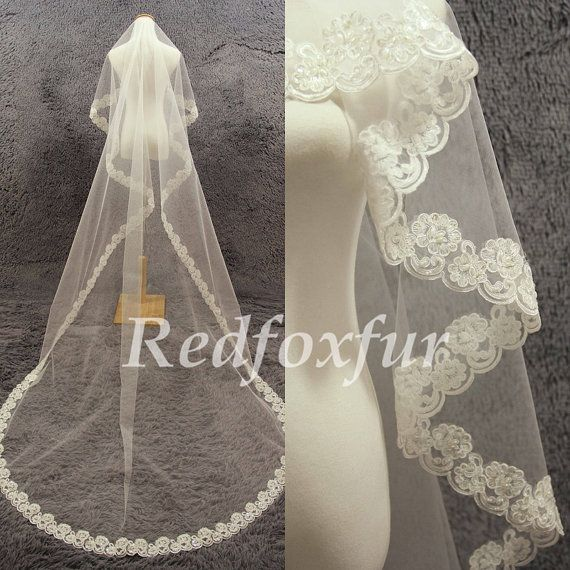 1000 Ideas About Cathedral Veils On Pinterest
