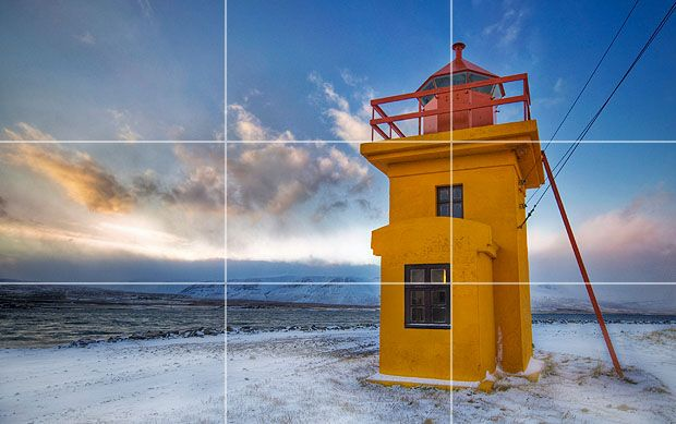 Rule of Thirds and lines and other compositoinal information