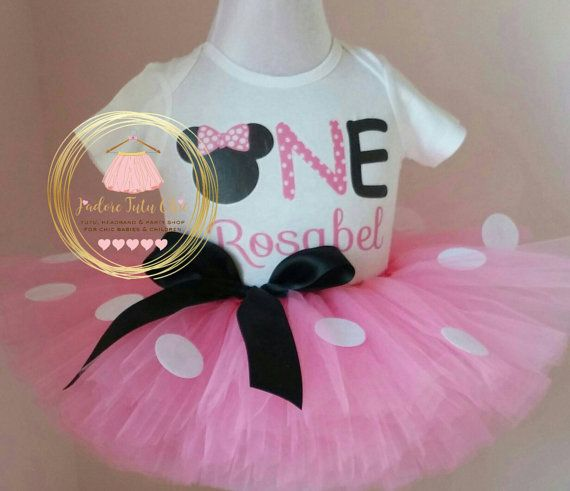 Check out this item in my Etsy shop https://www.etsy.com/ca/listing/249271933/minnie-mouse-birthday-outfit-1st