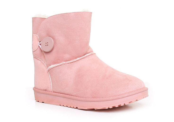 Różowe mukluki śniegowce  | sklep z butami Pantofelek24.pl