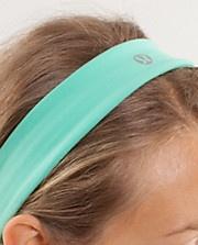 Mint Green Lulu Lemon headband.... Want it!!!!!