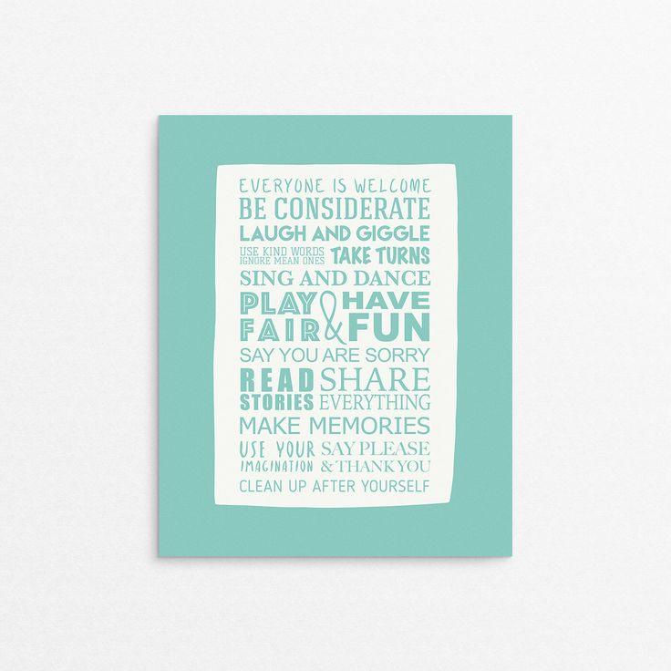 Best 20+ Playroom rules ideas on Pinterest | Playroom ...