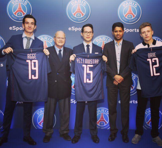 El PSG anuncia fichajes estrella para su equipo de eSports