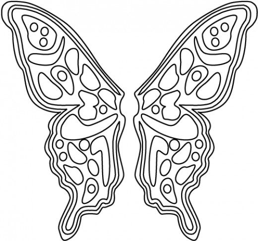 butterfly coloring pages for adults american girl doll from this lovely butterfly wings. Black Bedroom Furniture Sets. Home Design Ideas