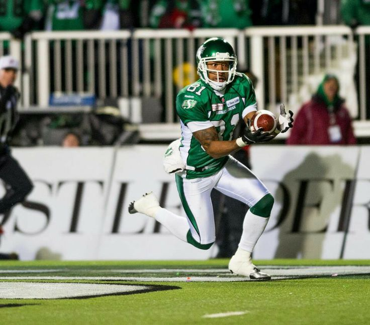 Geroy Simon scores the first touchdown in the 2013 Grey cup