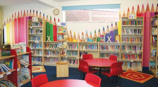 como decorar bibliotecas escolares - Pesquisa Google